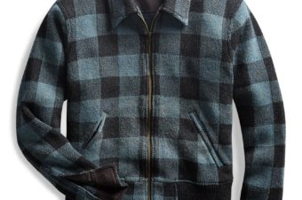 RRL/COTTON WOOL CHECK JACKET/75,600