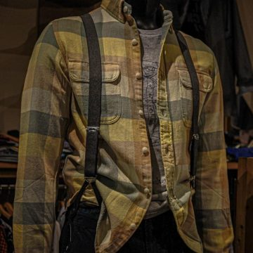 RRL/CHECK HEAVY NEL SHIRTS/23,100