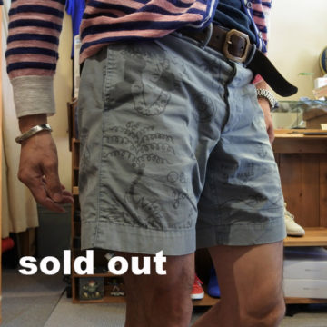 RRL/WASHED CHINO SHORTS/21,600