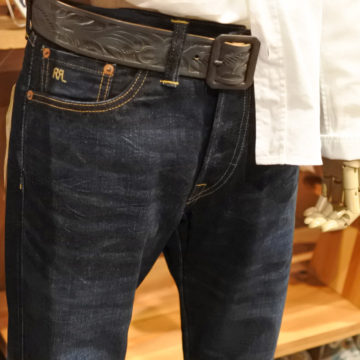 RRL/SLIM FIT SELVAGE JEANS/39,960